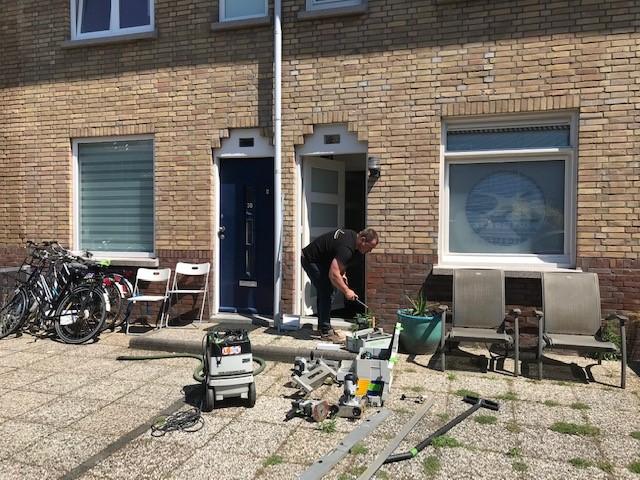 Den Haag voordeur en achterdeur