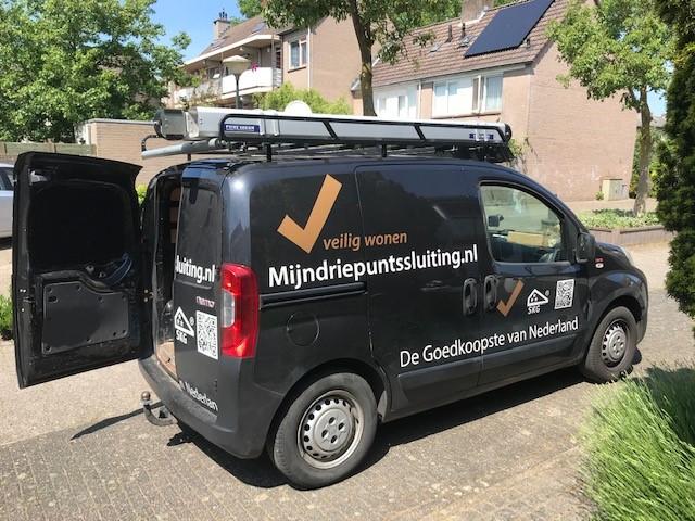 Voordeur en achterdeur driepuntsslot Utrecht